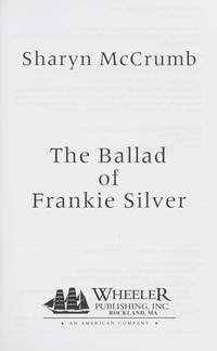 image of The Ballad of Frankie Silver