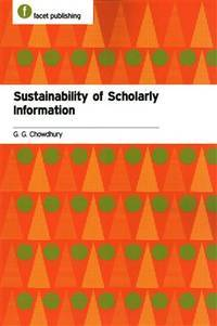 Sustainability of Scholarly Information