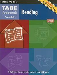 TABE Fundamentals: Student Edition Reading, Level D Reading, Level D