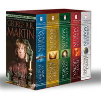 George R. R. Martin's A Game of Thrones 5-Book Boxed Set (Song of Ice and Fire Series): A...