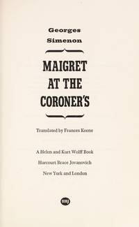 image of Maigret At The Coroner's