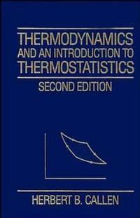 Thermodynamics; Intro Thermostat 2E Clo