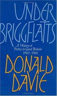 Under Briggflatts:  A History of Poetry in Great Britain 1960-1988