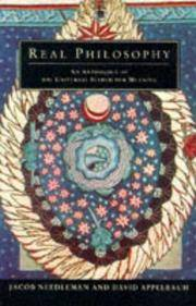 Real Philosophy - an Anthology of the Universal Search for Meaning
