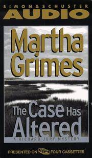 image of The CASE HAS ALTERED: A RICHARD JURY MYSTERY  CASSETTE (Richard Jury Mysteries)
