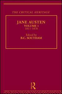 critical essays on jane austen b.c southam My jane austen summer: southam, b c [editor] published by publisher's 'casebook' series a collection of modern critical essays on austen's novels.