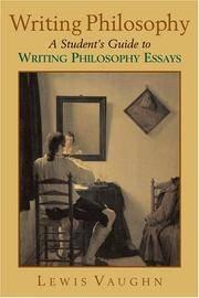 finlayson writing philosophy essays