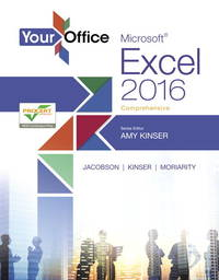 YOUR OFFICE:MS.EXCEL 2016,COMP.