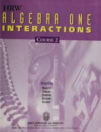 HRW Algebra One Interactions Course 2