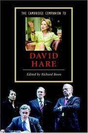 The Cambridge Companion to David Hare (Cambridge Companions to Literature)