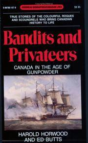Bandits and Privateers: Canada in the Age of Gunpowder