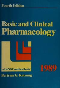 Basic and Clinical Pharmacology by Bertram G. Katzung - Paperback - from Discover Books (SKU: 3198523034)
