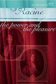 Racine: The Power and the Pleasure by  Derval  Edric; Conroy - Paperback - 2001 - from UP THE HILL BOOKS (SKU: 002240)