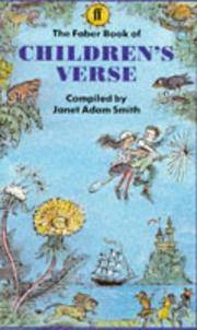 image of The Faber Book of Children's Verse (Faber Paper Covered Editions)