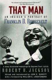 image of That Man: An Insider's Portrait of Franklin D. Roosevelt.