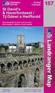 St.David's and Haverfordwest: Tyddewi a Hwlffordd (Landranger Maps) by  Ordnance Survey - from millhousebooks and Biblio.com