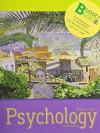 image of Psychology (loose leaf) and Study Guide (Budget Books)