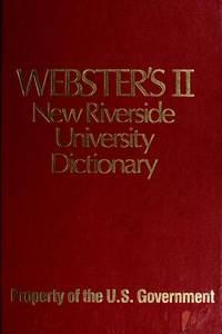 WEBSTERS II NEW RIVERSIDE UNIV DICT