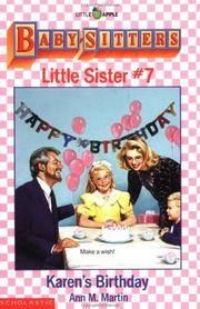 Karen's Birthday