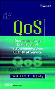 QOS - MEASUREMENT AND EVALUATION OF TELECOMMUNICATIONS QUALITY OF SERVICE
