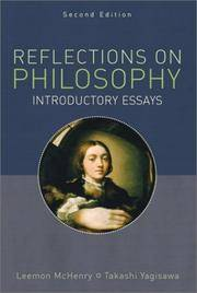 Reflections on Philosophy: Introductory Essays, Second Edition