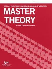 L179 - Master Theory BOOK 4 Elementary Harmony