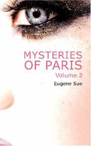 Mysteries Of Paris Volume 2