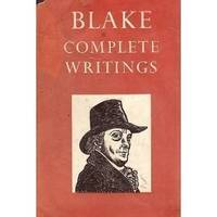 Blake: Complete Writings with Variant Reading