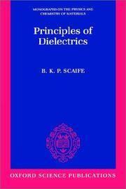 Principles of Dielectrics