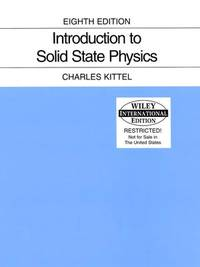 image of Introduction to Solid State Physics