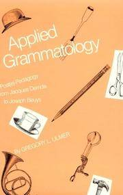 Applied grammatology; post(e)-pedagogy from Jacques Derrida to Joseph Beuys