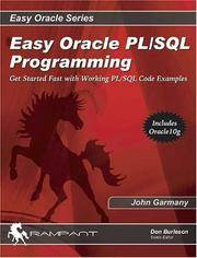 Easy Oracle PL/SQL Programming: Get Started Fast with Working PL/SQL Code Examples