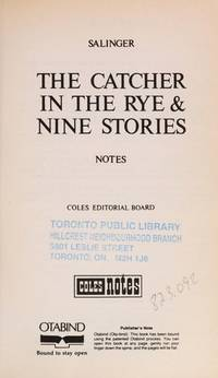 Catcher In the Rye and Nine Stories