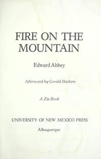 Fire on the Mountain (Zia Book)