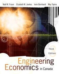 Engineering Economics in Canada by  May Tajima  Irwin Bernhardt - Hardcover - from Discover Books (SKU: 3202127238)