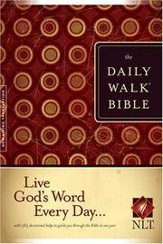 The Daily Walk Bible NLT by Producer-Tyndale - Hardcover - 2007-09-27 - from Ergodebooks (SKU: SONG1414309570)