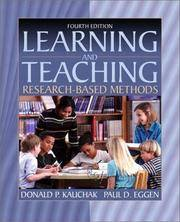 Learning and Teaching: Research-Based Methods (4th Edition)