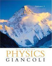 image of Physics: Principles with Applications Volume II (Ch. 16-33) (6th Edition)