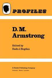 D. M. Armstrong
