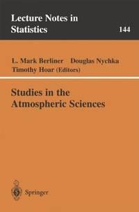 Studies in the Atmospheric Sciences.