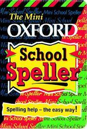 The Mini Oxford School Speller