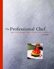 The Professional Chef by Culinary Institute of America - 2001-09-05