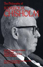 The Philosophy of Roderick M. Chisholm / edited by Lewis Edwin Hahn