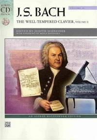 image of J. S. Bach: The Well-Tempered Clavier: Vol 2