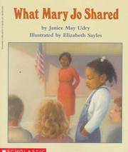 What Mary Jo Shared by  Janice May Udry - Paperback - 1991 - from Orion LLC and Biblio.com