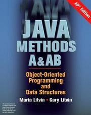 Java Methods A&AB, AP Edition