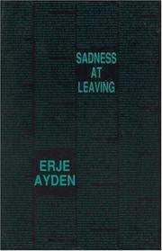 image of Sadness at Leaving: An Espionage Romance