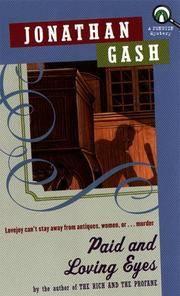 image of Paid and Loving Eyes (a Lovejoy novel)