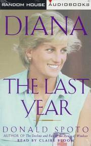 image of Diana: The Last Year -- (2 Audio Cassettes - Abridged - 3 Hours)