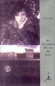 My Mother's House and Sido (Modern Library)